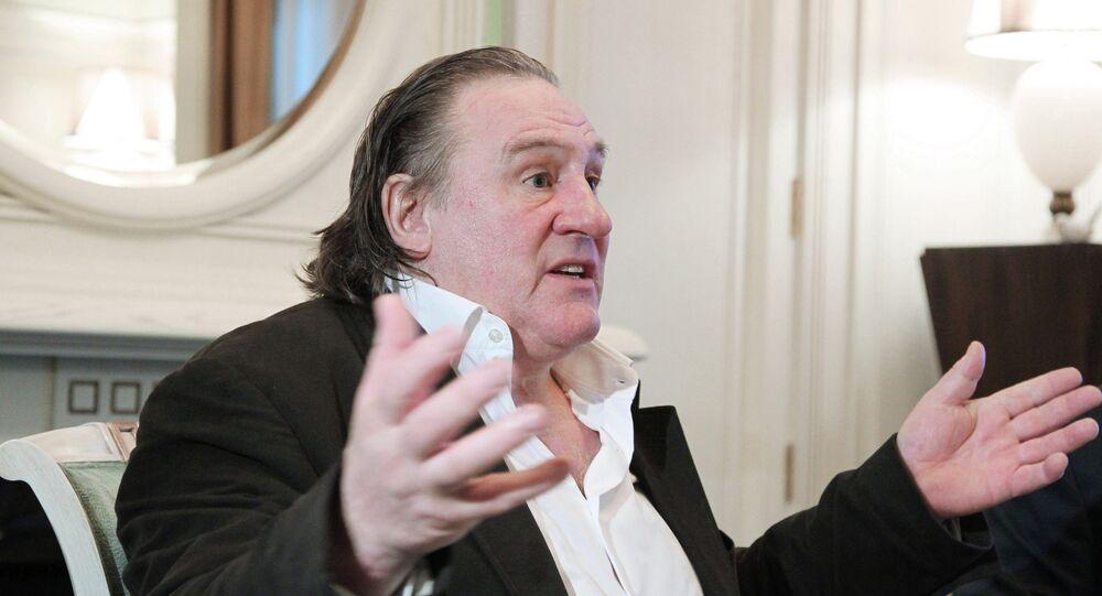 Gérard Depardieu. Archive photo
