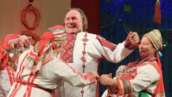 Depardieu: je me sens presque russe - Sputnik France