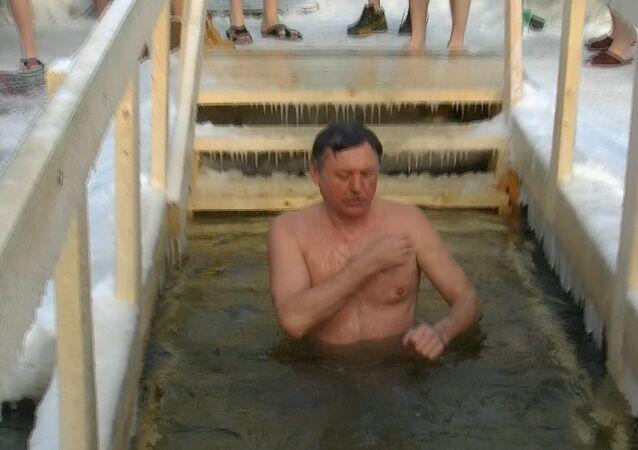 Bain de la Théophanie à Moscou