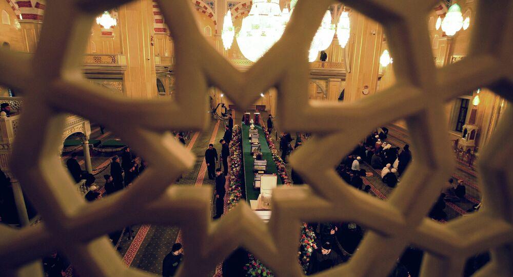 Les reliques du prophète Mohammed exposées dans une mosquée (archives)