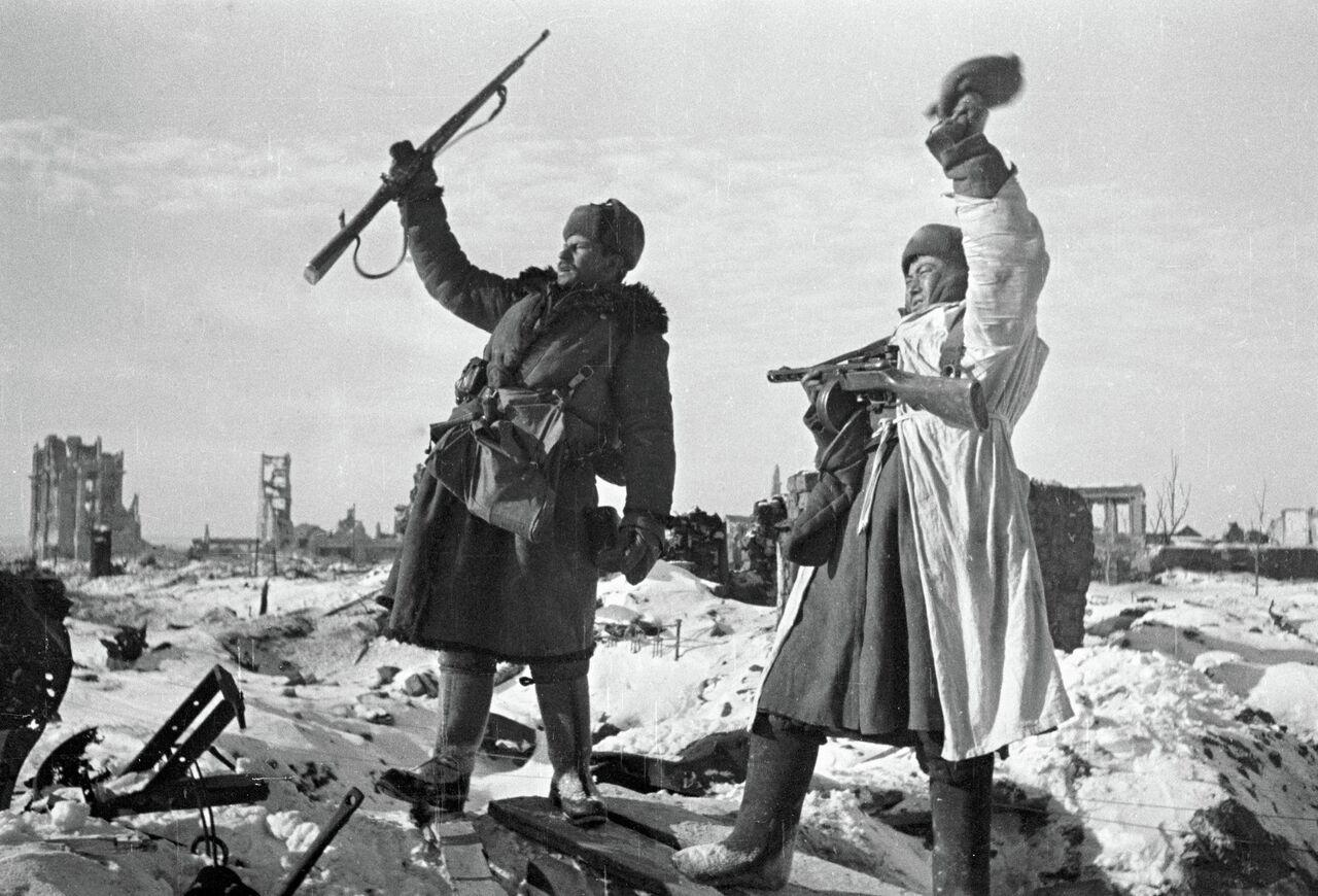 La bataille de Stalingrad: photos d'archives