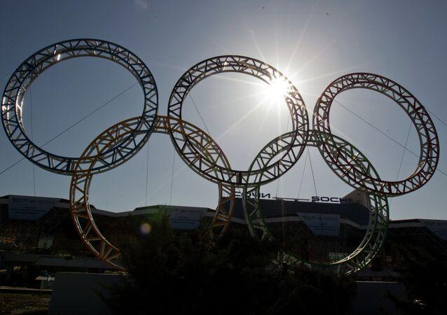 Les anneaux olympiques (Archives)