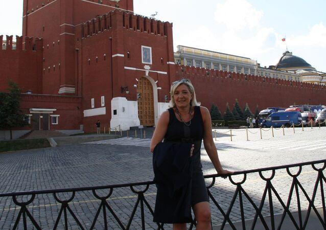 Marine Le Pen à Moscou (archives)