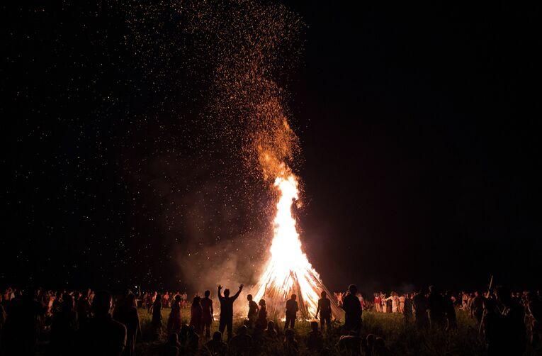 Празднование Купалы в Калужской области