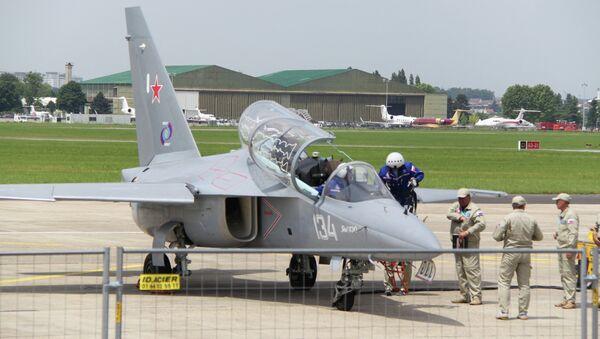 Самолет Як-130 на авиасалоне в Ле Бурже - Sputnik France
