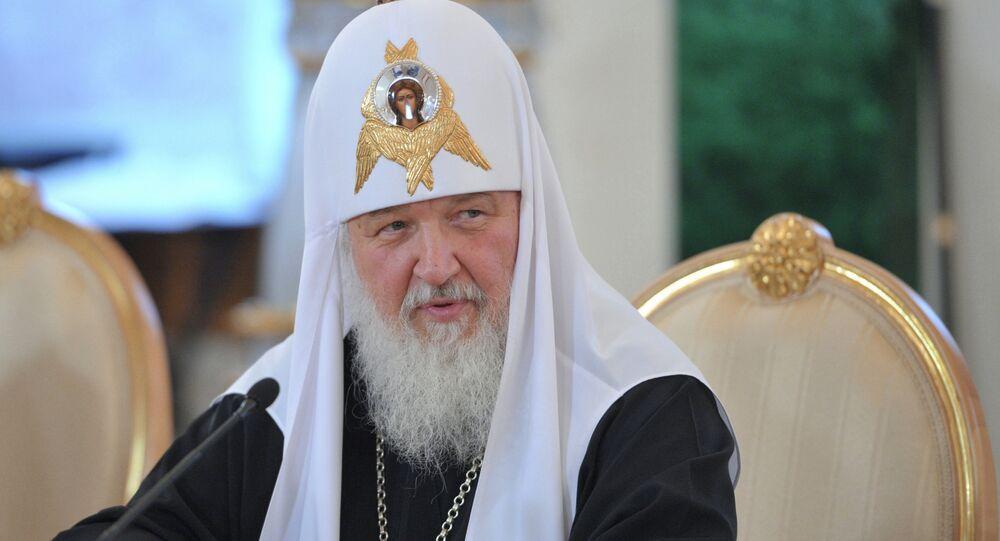 Патриарх Московский и всея Руси Кирилл в Большом Кремлевском Дворце