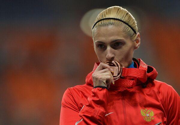 Mondiaux d'athlétisme: la Russe Krivoshapka décroche le bronze du 400m - Sputnik France