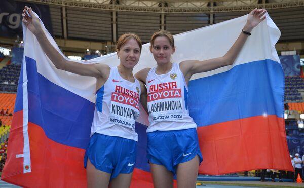 Anisya Kirdyapkina et Elena Lashmanova - Sputnik France