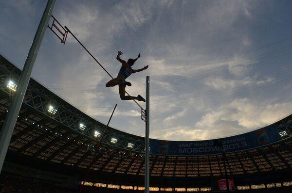 Athlétisme - Mondiaux: la perchiste russe Isinbayeva sacrée - Sputnik France