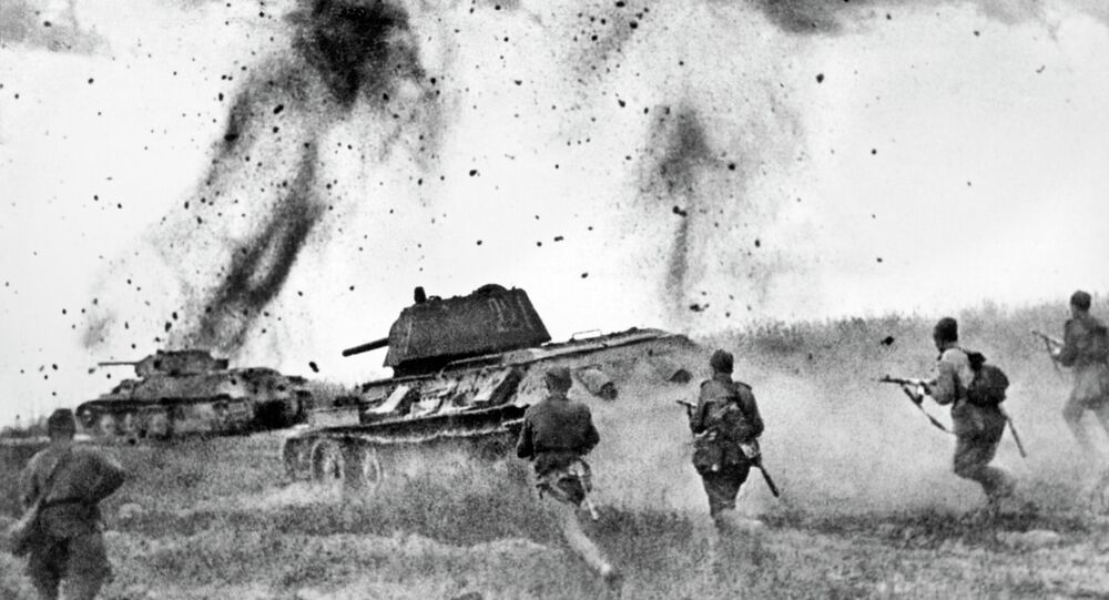 Lors des combats, 1943