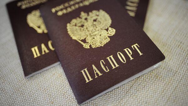 Passeport russe - Sputnik France