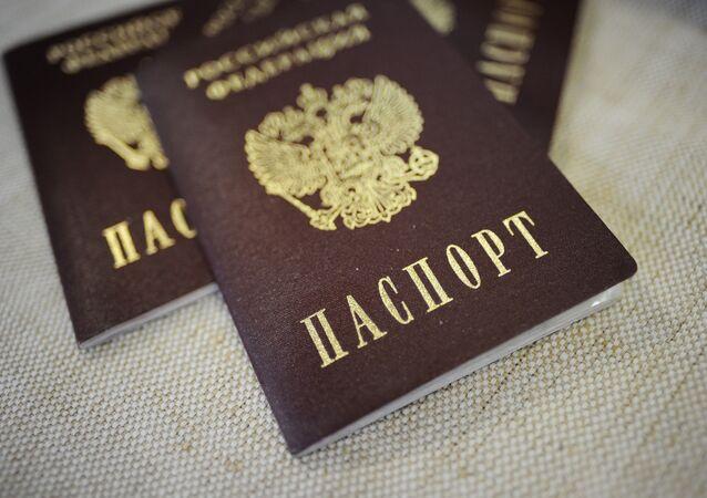 un passeport russe