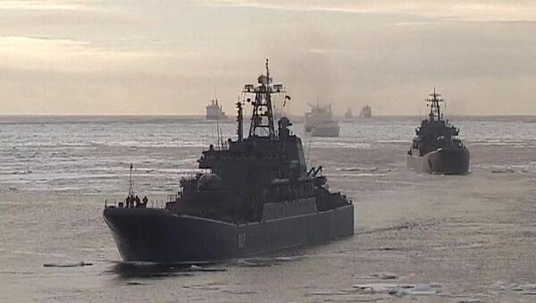 Arctique: la Flotte du Nord possèdera une base Nouvelle-Sibérie - Sputnik France