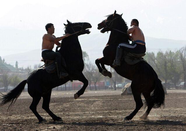 Le Kirghizstan accueille les premiers Jeux mondiaux des nomades
