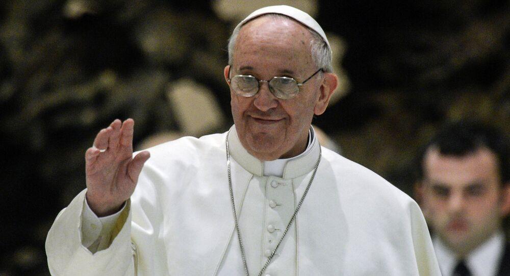 Le pape François