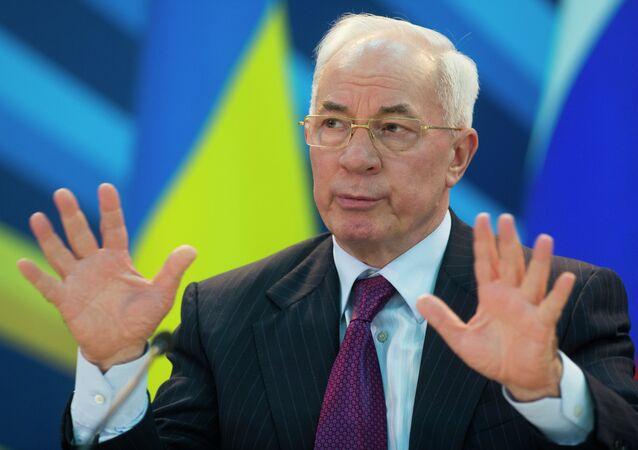 Ex-premier ministre de l'Ukraine Nikolaï Azarov