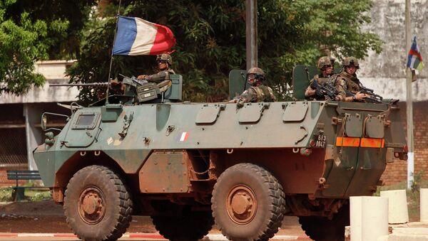 Французские солдаты в Банги (ЦАР). 5 декабря 2013 года - Sputnik France