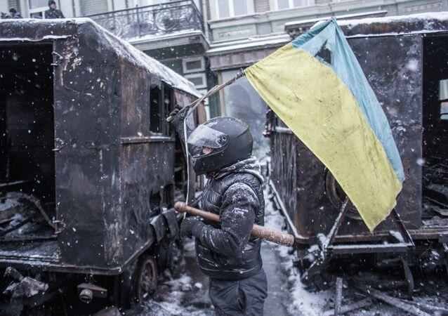 Situation à Kiev le 22 janvier 2014