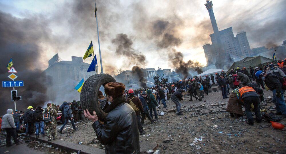 Contestation à Kiev