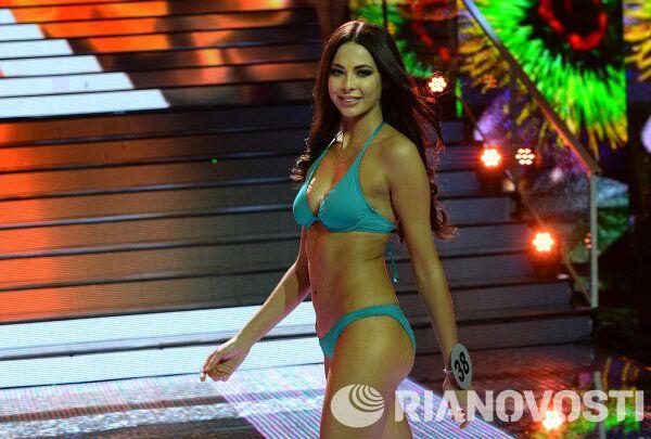 Победительница конкурса Мисс Россия-2014 Юлия Алипова