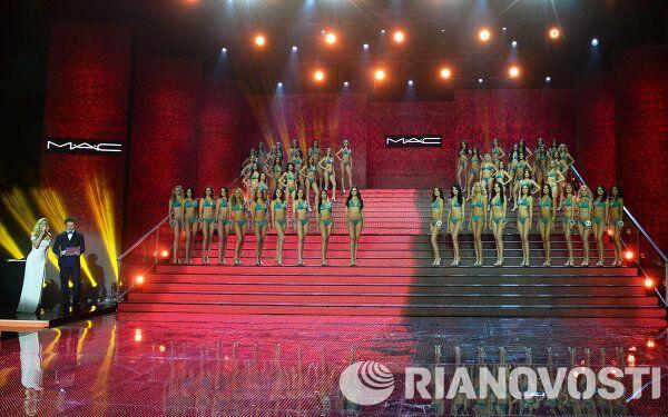 Участники финала Национального конкурса Мисс Россия 2014