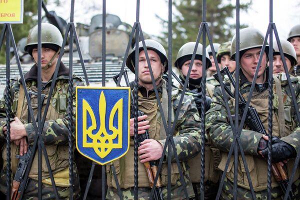 Crimée: Poutine remercie les militaires ukrainiens pour leur retenue - Sputnik France