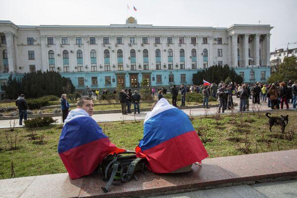La Crimée reçoit les premières tranches d'aide russe (officiel) - Sputnik France