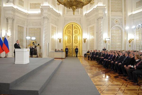 Crimée: situation analogue à celle du Kosovo (Poutine) - Sputnik France