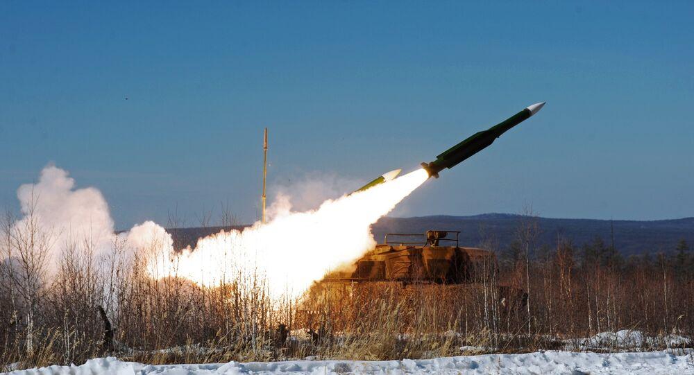 Tir d'un missile Bouk