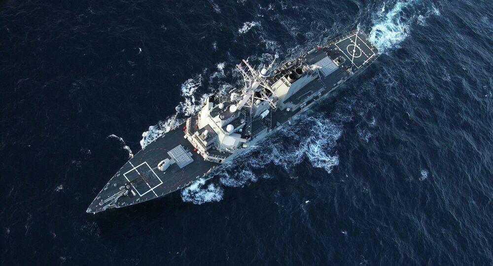 Le destroyer américain USS Donald Cook