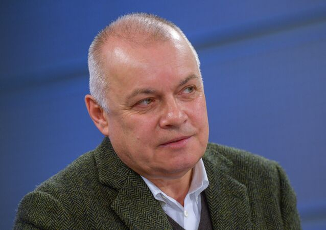 Directeur général de 'Rossiya Segodnia' Dmitri Kisselev