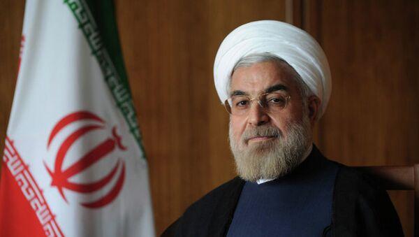 Le président iranien Hassan Rohani - Sputnik France