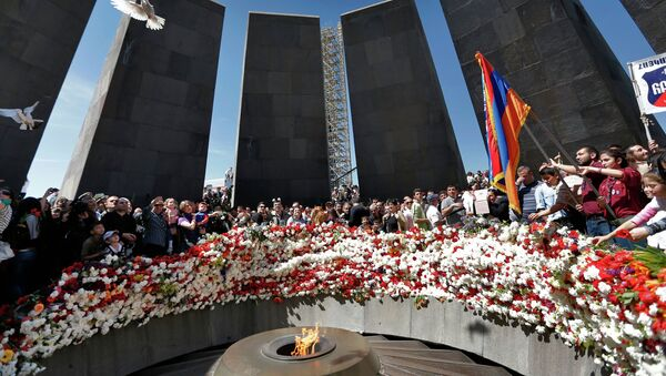 День памяти жертв геноцида в Армении - Sputnik France