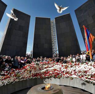 Commémoration des victimes du Génocide arménien (Archives)