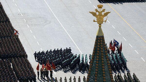 Военный парад, посвященный 69-й годовщине Победы в Великой Отечественной войне - Sputnik France