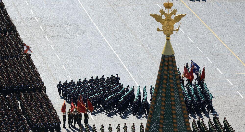 Parade de la Victoire à Moscou. Archive photo