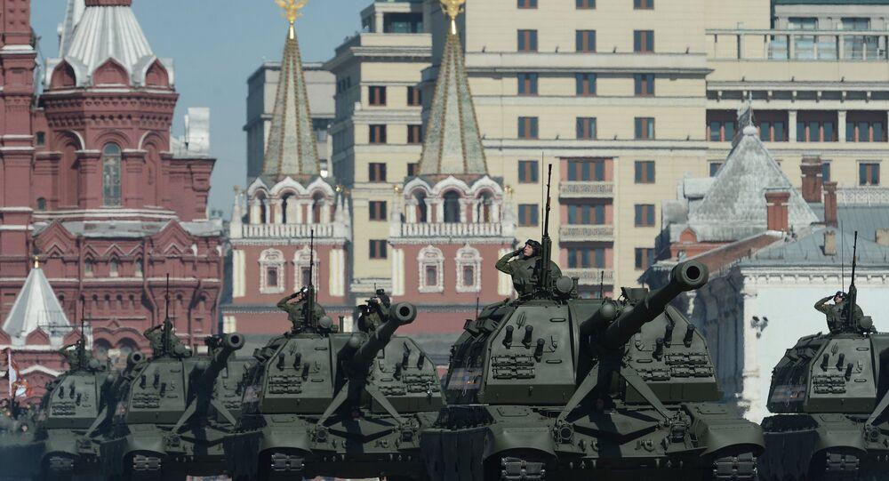 Défilé de la  Victoire, Moscou, le 9 mai 2014