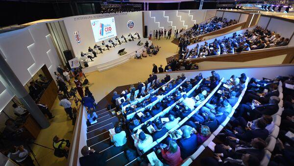 Петербургский международный экономический форум. День первый - Sputnik France