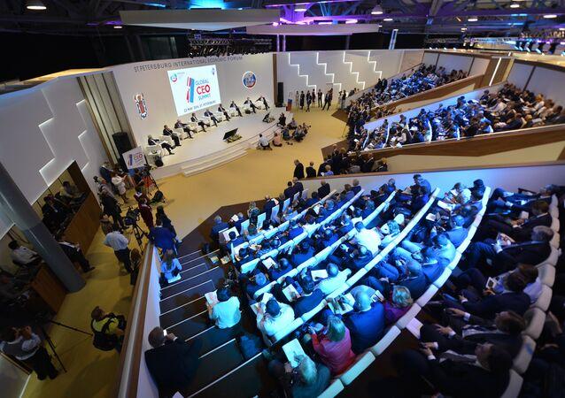 Forum économique de Saint-Pétersbourg (archives)