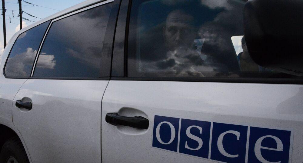 Les observateurs de l'OSCE dans la région de Donetsk