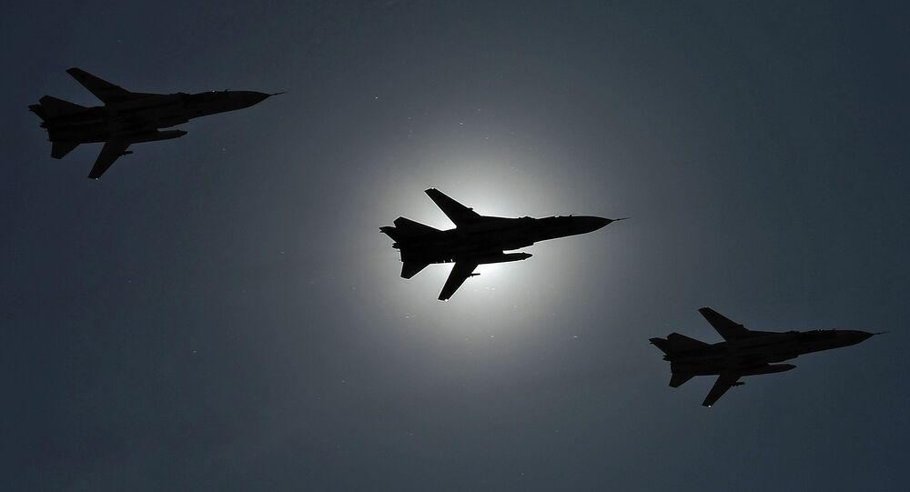 Совместная тренировка экипажей ВВС к празднику Общее небо