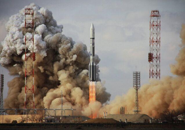 Tir d'un lanceur Proton-M