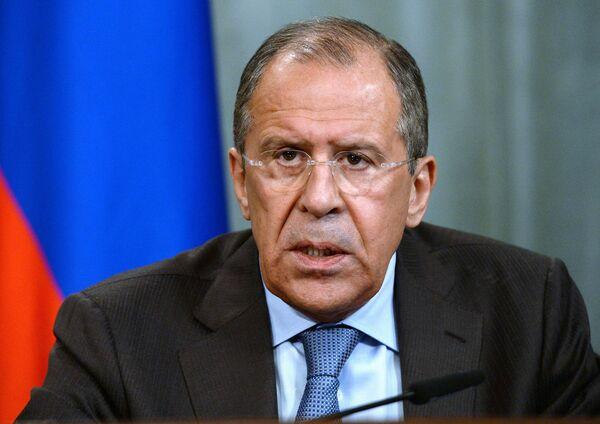 Diplomatie russe Sergueï Lavrov - Sputnik France