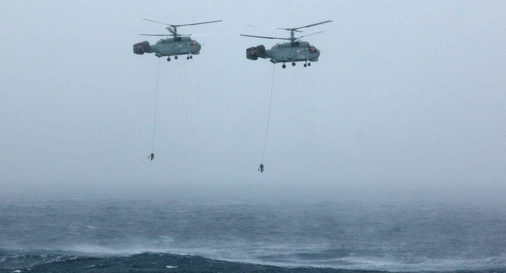 L'aviation russe s'entraîne à détecter des sous-marins dans la mer de Barents
