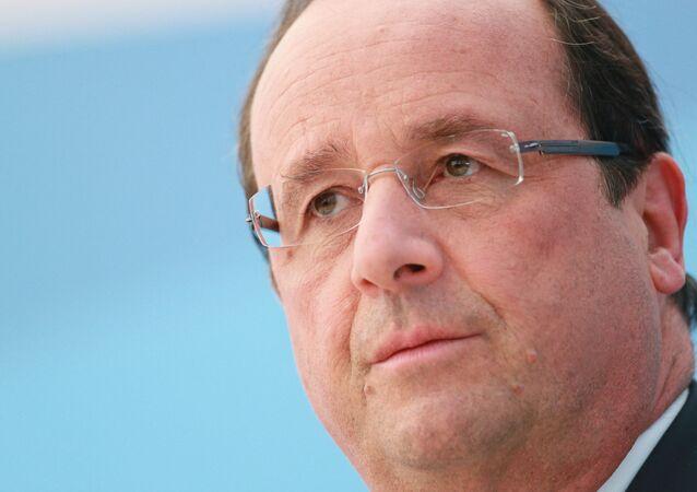 Président français François Hollande (Archives)