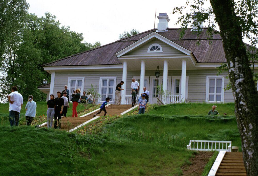 Le musée-réserve d'Alexandre Pouchkine à Mikhaïlovskoïe, dans la région de Pskov