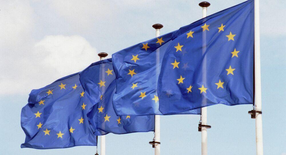 Les drapeaux de l'UE
