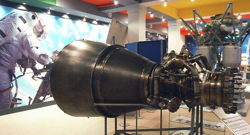 Chambre de combustion du moteur RD-180