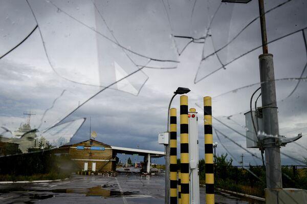 Ukraine: un poste-frontière russe touché par un tir d'obus - Sputnik France