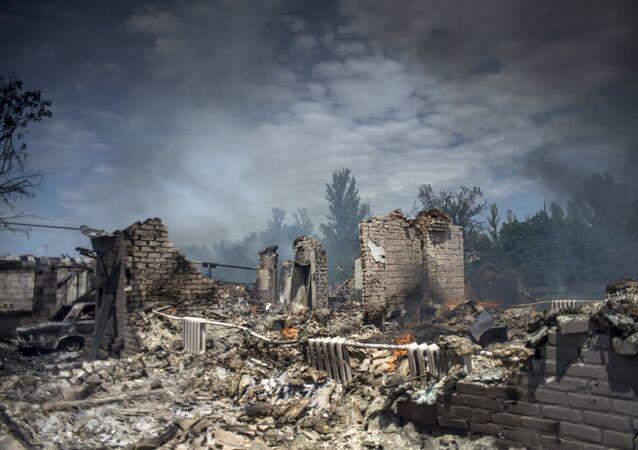 Sinistre Donbass: témoignage d'un photographe de Sputnik exposé à la BnF